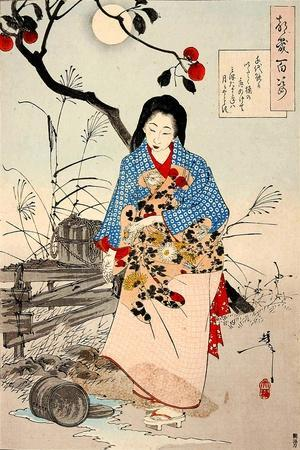 Lady Chiyo, One Hundred Aspects of the Moon