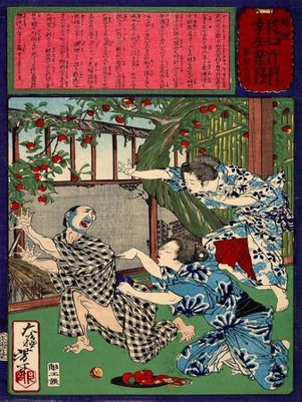 Ukiyo-E Newspaper: Jealous Wife Killed Her Husband