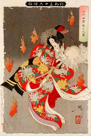 Will-Of-The Wisp Flames from 24 Paragons of Filial Piety, Thirty-Six Transformations