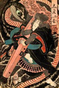 Jiraiya by Yoshitsuya Utagawa