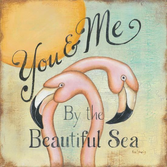 You and Me-Kim Lewis-Art Print