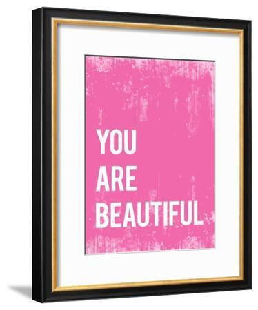 You Are Beautiful--Framed Art Print