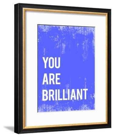 You are Brilliant-Kindred Sol Collective-Framed Art Print