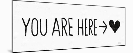 You Are Here BW-Michael Mullan-Mounted Art Print