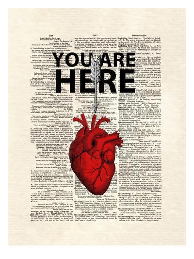 You Are Here-Matt Dinniman-Art Print