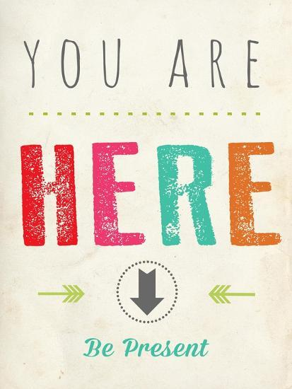 You are Here-Kindred Sol Collective-Premium Giclee Print