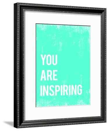 You are Inspiring-Kindred Sol Collective-Framed Art Print