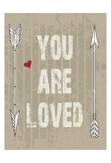 You Are Loved-Melody Hogan-Art Print