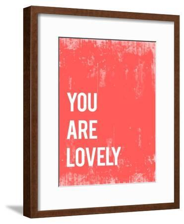 You are Lovely-Kindred Sol Collective-Framed Art Print