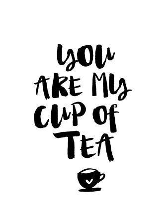 You Are My Cup of Tea-Brett Wilson-Art Print
