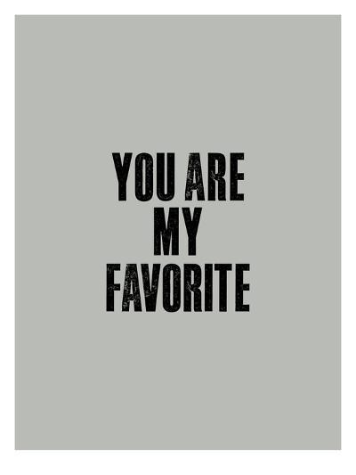 You Are My Favorite-Brett Wilson-Art Print