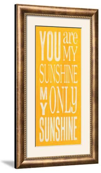 You are My Sunshine-Holly Stadler-Framed Photographic Print