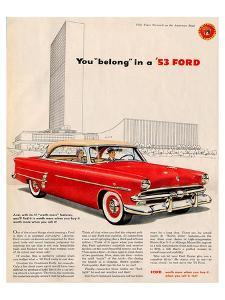 You Belong in a '53 Ford