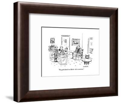 """You gotta hand it to Mario?he's a survivor."" - New Yorker Cartoon-David Sipress-Framed Premium Giclee Print"