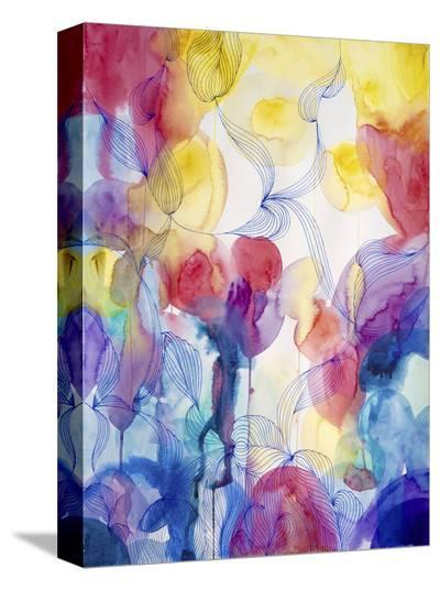 You Make Me Happy One-Helen Wells-Stretched Canvas Print