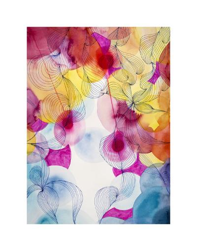 You Make Me Happy Two-Helen Wells-Art Print