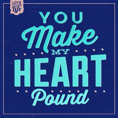 You Make My Heart Pound 1-Lorand Okos-Art Print
