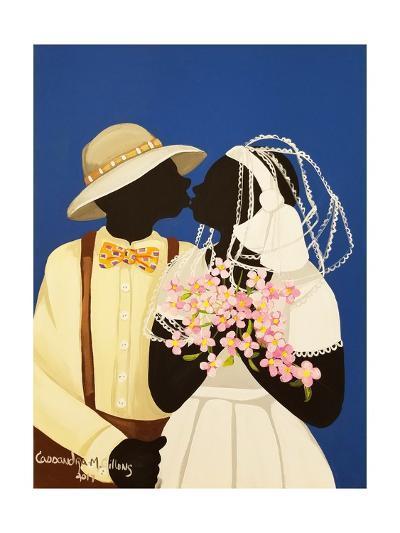 You May Kiss the Bride-Cassandra Gillens-Art Print