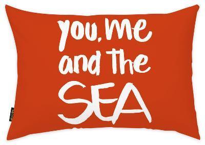 You Me and The Sea Throw Pillow--Home Accessories