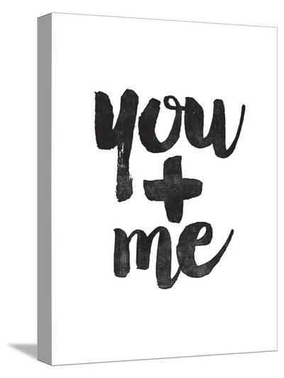 You + Me-Brett Wilson-Stretched Canvas Print