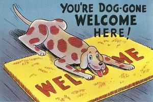 You're Dog-Gone Welcome