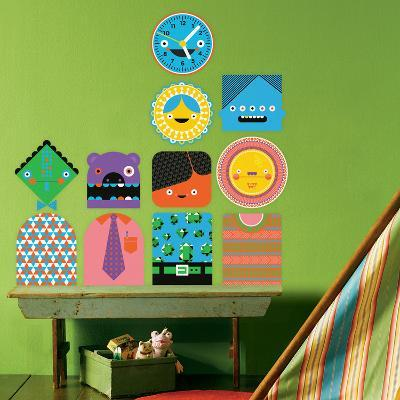 You-Things Totem Collection 1 Wall Decal-Wee Society-Wall Decal