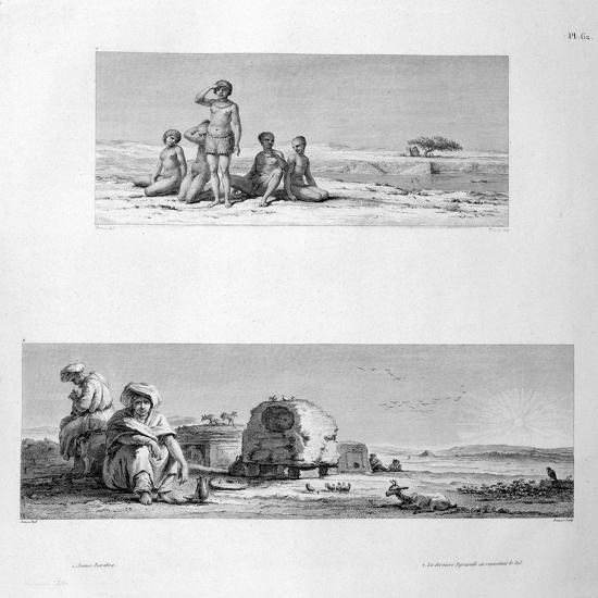 Young Barabra, C1808- Prevost-Giclee Print