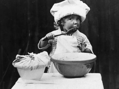 Young Chef--Photographic Print