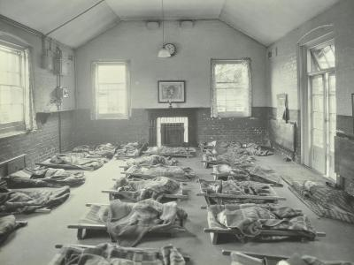 Young Children Asleep at Mitcham Residential School, London, 1931--Photographic Print