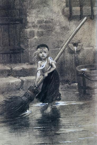 Young Cosette--Giclee Print