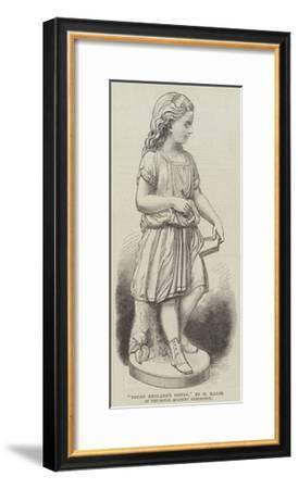 Young England's Sister, by G Halse, in the Royal Academy Exhibition--Framed Giclee Print