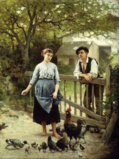 Young Farmers-Edouard Debat-Ponsan-Giclee Print
