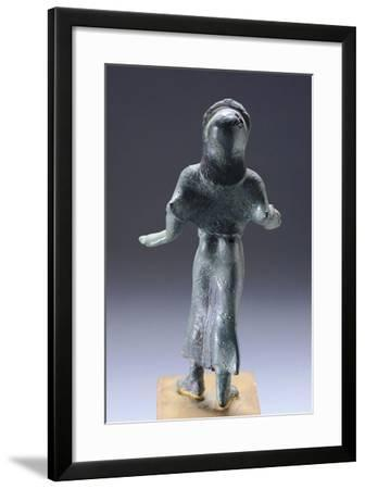 Young Female Praying, Rear View, Bronze Statuette from Monteacuto Ragazza--Framed Giclee Print