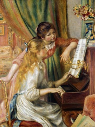 Young Girls at the Piano, 1892-Pierre-Auguste Renoir-Giclee Print