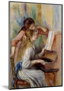 Young Girls at the Piano by Pierre Auguste Renoir