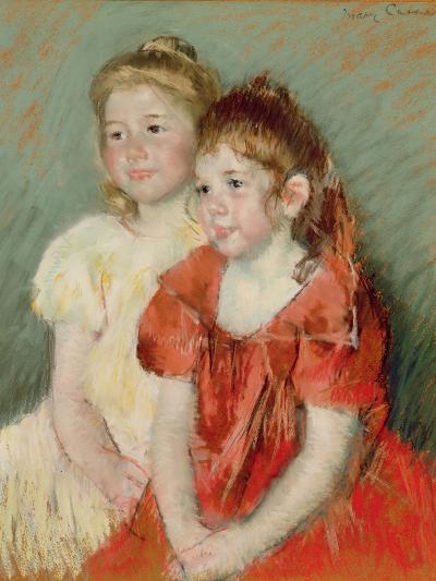 Young Girls, C.1900-Mary Cassatt-Giclee Print