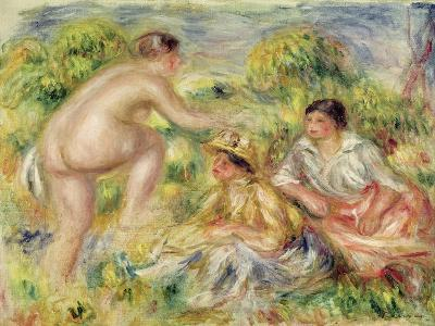 Young Girls in the Countryside, 1916-Pierre-Auguste Renoir-Giclee Print