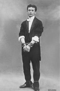 Young Houdini in Manacles