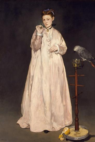 Young Lady in 1866, 1866-Edouard Manet-Giclee Print