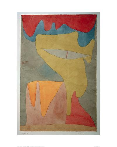 Young Lady-Paul Klee-Giclee Print