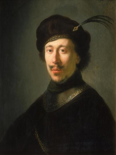 Young Man in a Gorget and Plumed Cap, C.1630-Isaac de Jouderville-Giclee Print