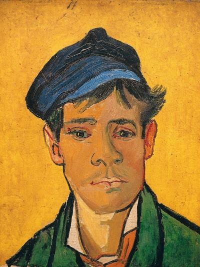 Young Man with a Hat, c.1888-Vincent van Gogh-Giclee Print