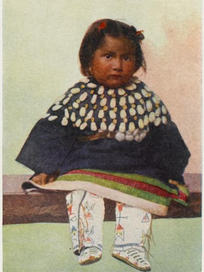 Young Native American Girl--Photographic Print