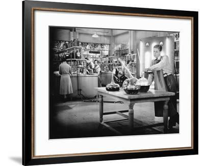 Young People Working in a Chemistry Lab--Framed Photo