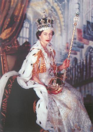 Young Queen Elizabeth II