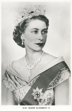 Young Queen Elizabeth II