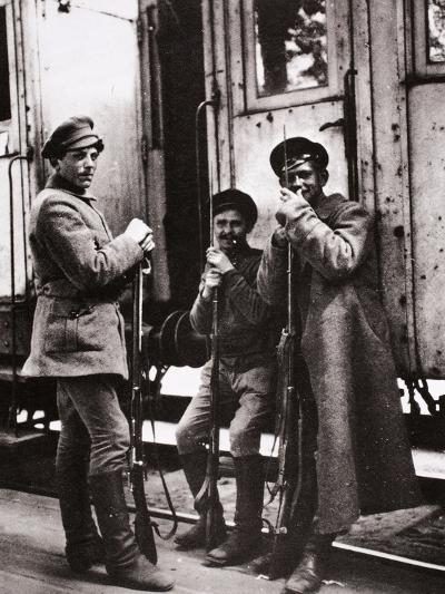 Young Red Guards-Russian Photographer-Photographic Print