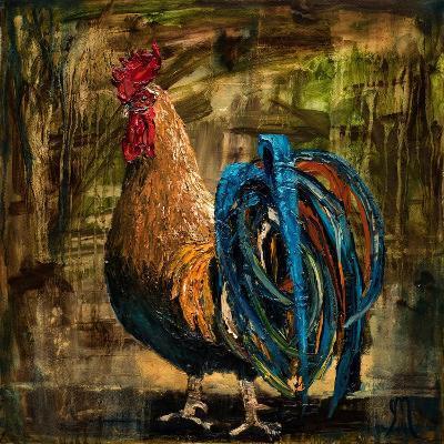 Young Rooster II-Jodi Monahan-Art Print