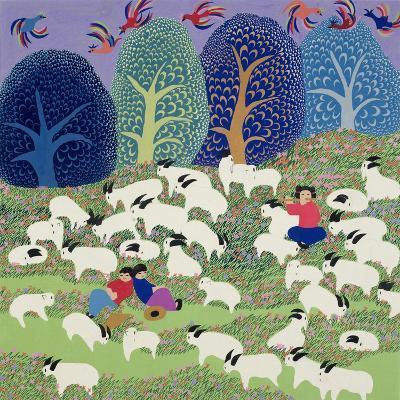 Young Shepherd, 1989--Giclee Print