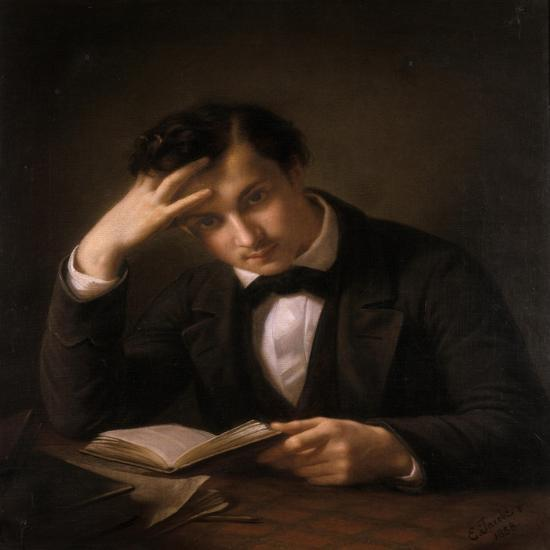 Young Student, 1858-Emil Jacobs-Giclee Print